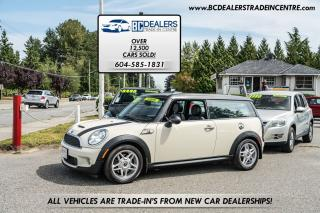 Used 2009 MINI Cooper Clubman S 6-Speed Manual, Pano Roof, 151k, Loaded for sale in Surrey, BC