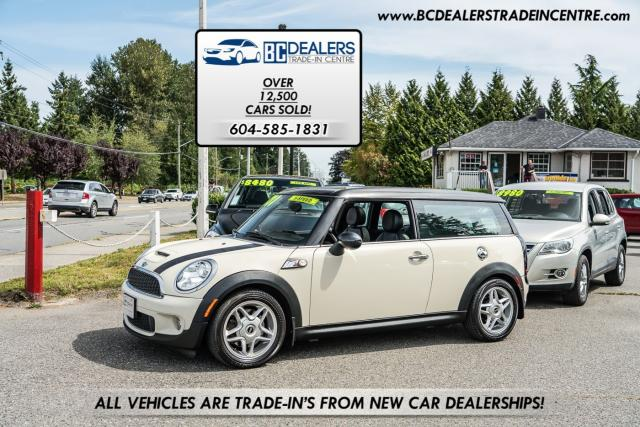 2009 MINI Cooper Clubman S 6-Speed Manual, Pano Roof, 151k, Loaded