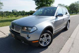 Used 2008 BMW X3 LOW KM'S / EXCELLENT CONDITION / CERTIFIED for sale in Etobicoke, ON