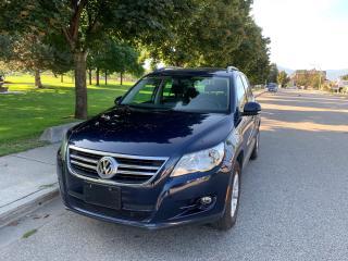 Used 2011 Volkswagen Tiguan Trendline for sale in Kelowna, BC