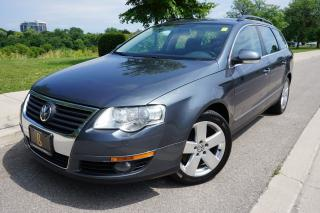Used 2009 Volkswagen Passat RARE - 6 SPEED MANUAL / LEATHER / LOCALLY OWNED for sale in Etobicoke, ON