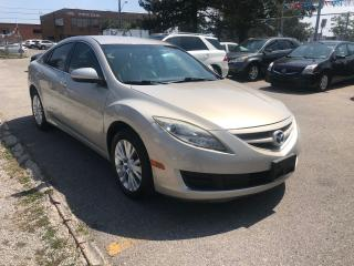 Used 2009 Mazda MAZDA6 118km,auto,4cylender,safety+3years warranty includ for sale in Toronto, ON