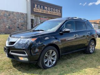 Used 2010 Acura MDX Elite.AWD.TV-DVD.NAVI. BACK UP CAMERA.BLUETOOTH. for sale in North York, ON