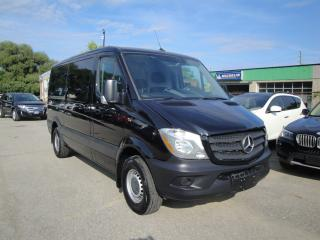 Used 2017 Mercedes-Benz Sprinter 2500 / 5 passengers/ balance of factory warranty for sale in Oakville, ON