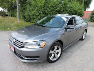Used 2015 Volkswagen Passat TSI Leather/Sunroof/ReverseCam for sale in BRAMPTON, ON