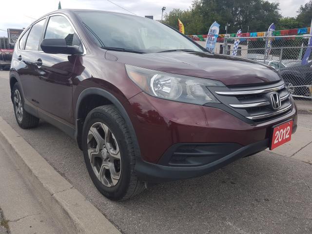 2012 Honda CR-V LX-AWD-ECO-BK UP CAM-BLUETOOTH-AUX-ALLOYS