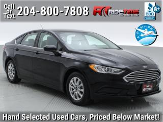 Used 2017 Ford Fusion S for sale in Winnipeg, MB