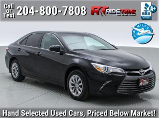 Used 2016 Toyota Camry LE for sale in Winnipeg, MB