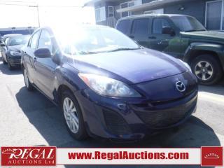 Used 2012 Mazda MAZDA3 4D Sedan AT for sale in Calgary, AB