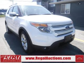Used 2011 Ford Explorer Limited 4D Utility 4WD for sale in Calgary, AB