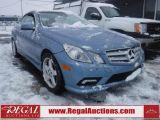 Photo of Blue 2011 Mercedes-Benz E350