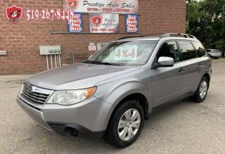 Used 2010 Subaru Forester SUMMER BLOWOUT SALE/2.5X/AWD/ONE OWNER/NO ACCIDENT for sale in Cambridge, ON