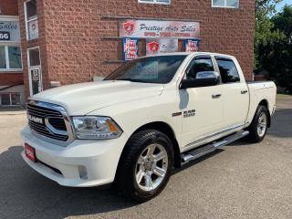 Used 2016 RAM 1500 Limited/SUMMER BLOWOUT SALE/ECODIESEL/4X4/CREW for sale in Cambridge, ON