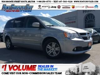 Used 2013 Dodge Grand Caravan CREW | STOW N GO | PWR SEAT & MORE!!! for sale in Milton, ON
