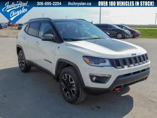 Used 2020 Jeep Compass Trailhawk 4x4 | Nav | Sunroof | Leather for sale in Indian Head, SK