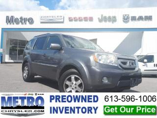 Used 2011 Honda Pilot Touring AWD for sale in Ottawa, ON