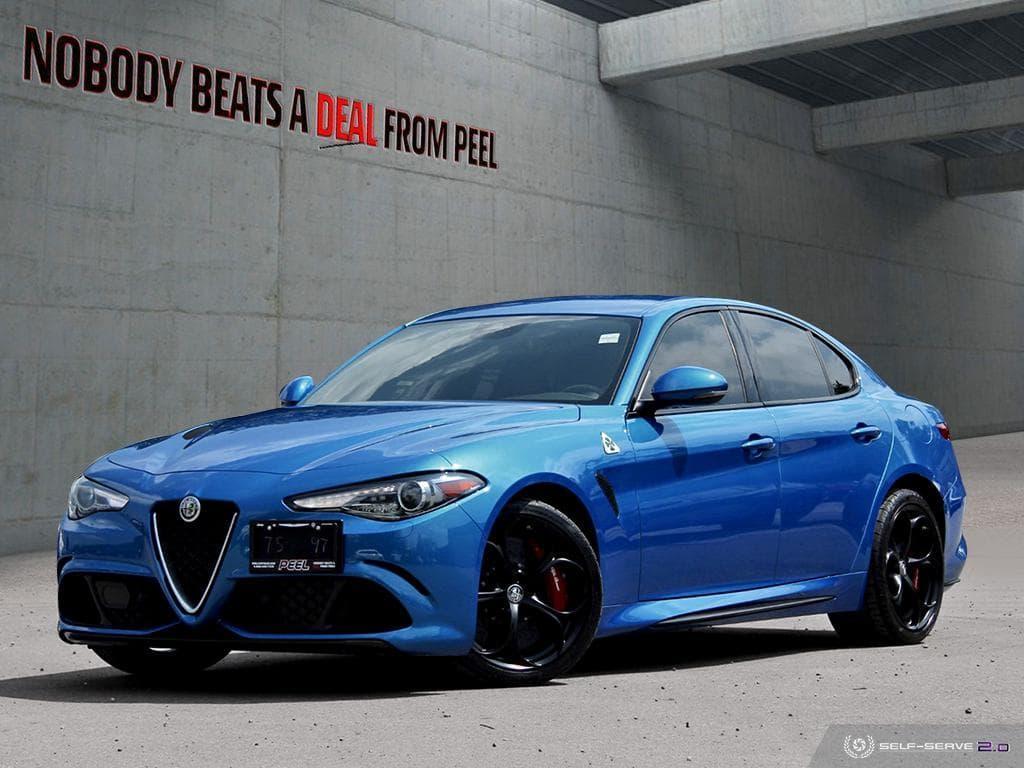 Alfa Romeo Giulia Quadrifoglio >> Used 2018 Alfa Romeo Giulia Quadrifoglio Sparco Carbon Seat
