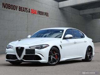 Used 2017 Alfa Romeo Giulia Quadrifoglio, Carbonceramicbrakes, Driverassistdyn for sale in Mississauga, ON