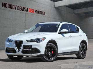 Used 2018 Alfa Romeo Stelvio Sport-Q4 Nero Edizione*Red Leather*Dark Tecnico Wh for sale in Mississauga, ON