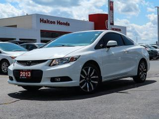 Used 2013 Honda Civic EX-L|NO ACCIDENTS for sale in Burlington, ON