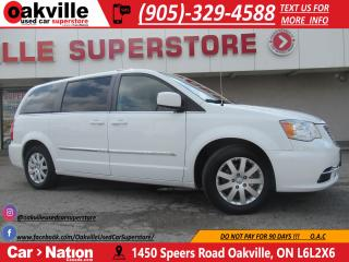 Used 2015 Chrysler Town & Country TOURING | BACKUP CAMERA | STOW N GO | DVD for sale in Oakville, ON
