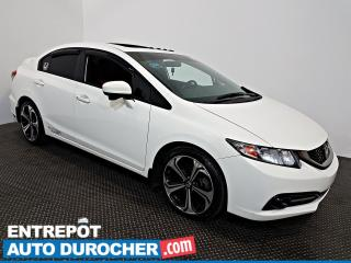 Used 2015 Honda Civic Sedan Si NAVIGATION - Toit Ouvrant - A/C for sale in Laval, QC