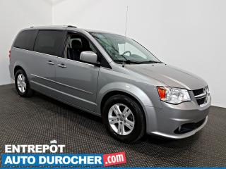 Used 2016 Dodge Grand Caravan Crew Plus Automatique - A/C - Groupe Électrique for sale in Laval, QC