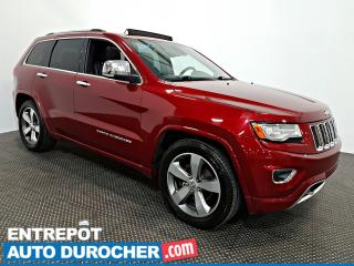 Used 2015 Jeep Grand Cherokee Overland AWD NAVIGATION - Toit Ouvrant - A/C -Cuir for sale in Laval, QC