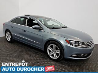 Used 2013 Volkswagen Passat CC Sportline Automatique - AIR CLIMATISÉ - Cuir for sale in Laval, QC