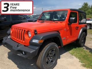 New 2018 Jeep Wrangler SPORT for sale in Smiths Falls, ON
