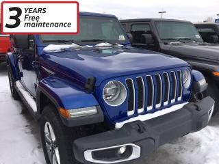 New 2019 Jeep Wrangler Unlimited Sahara for sale in Smiths Falls, ON