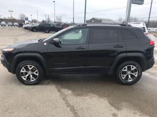 Used 2015 Jeep Cherokee Trailhawk for sale in Smiths Falls, ON