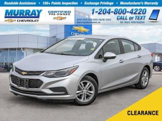 Used 2018 Chevrolet Cruze LT Auto *Heated Seats, Remote Start, Sunroof* for sale in Winnipeg, MB