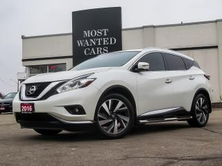 Used 2016 Nissan Murano **SALE PENDING**SALE PENDING** for sale in Kitchener, ON