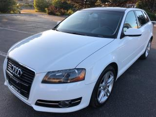 Used 2012 Audi A3 TDI Progressiv PANORAMIC SUNROOF HEATED SEATS 2 TO for sale in Concord, ON