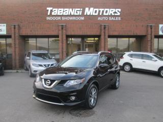Used 2015 Nissan Rogue SL PREMIUM AWD | NAVIGATION | 360 CAM | LEATHER | SUNROOF | for sale in Mississauga, ON