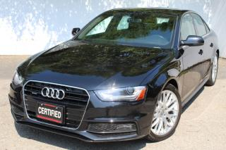Used 2014 Audi A4 S-Line  Progressiv Quattro Navi rear camera Sunroof leather for sale in Mississauga, ON