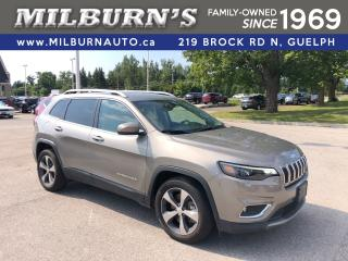Used 2019 Jeep Cherokee Limited for sale in Guelph, ON