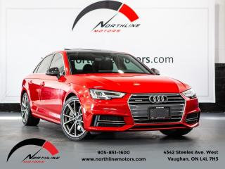 Used 2017 Audi A4 Technik Plus|S-Line|Navigation|360Camera|Blindspot|B&O Sound for sale in Vaughan, ON