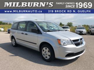 Used 2012 Dodge Grand Caravan SE CVP for sale in Guelph, ON