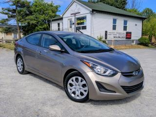 Used 2014 Hyundai Elantra Heated Seats Bluetooth Cruise Power Group A/C for sale in Sutton, ON