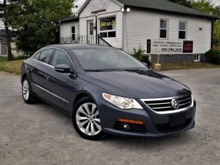 Used 2010 Volkswagen Passat CC 2.0L Highline Low KMS Bluetooth Leather Heated Seats for sale in Sutton, ON