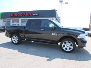 Used 2015 RAM 1500 LIMITED CREW CAB ECO DIESEL 4WD NAVI CERTIFIED for sale in Milton, ON