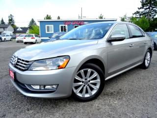 Used 2012 Volkswagen Passat Highline TDI DSG Suede on Leather Sunroof Bluetooth Certified for sale in Guelph, ON