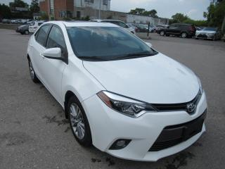 Used 2015 Toyota Corolla 2015 Toyota Corolla - 4dr Sdn CVT LE for sale in Toronto, ON