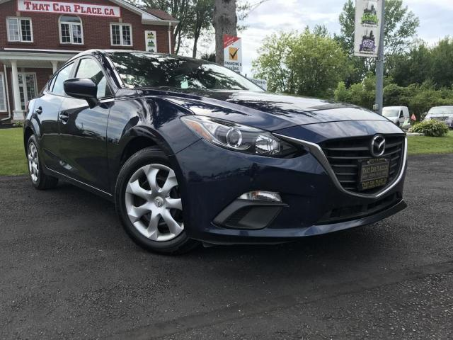 2016 Mazda MAZDA3 i Sport AT 4-Door 2016 Mazda MAZDA3 i Sport AT 4-Door-NAV-Backup Camera-SKYACTIV-A/C-Cruise-Pwr Wndws