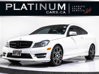 Used 2014 Mercedes-Benz C-Class C350 4MATIC AMG, NAVI, CAM, PANO, PUSH, BLINDSPOT for sale in Toronto, ON