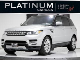 Used 2016 Land Rover Range Rover Sport TD6 Diesel HSE, 7 PASSENGER, NAVIGATION, Pano for sale in Toronto, ON