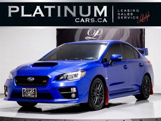 Used 2016 Subaru WRX STI SPORT, AWD, MANUAL, CAM, BREMBO, AHA CAR APP for sale in Toronto, ON