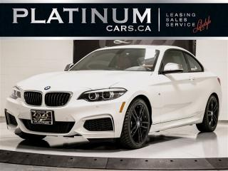 Used 2018 BMW M240i XDRIVE, M SPORT, LOW KM, Premium PKG, Navi for sale in Toronto, ON